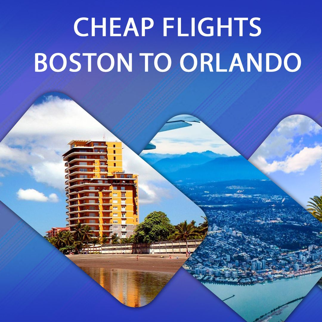 cheap flights from boston to orlando