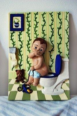 cuadros para cuartos de baño gracioso | fina | Pinterest | Cuadros ...