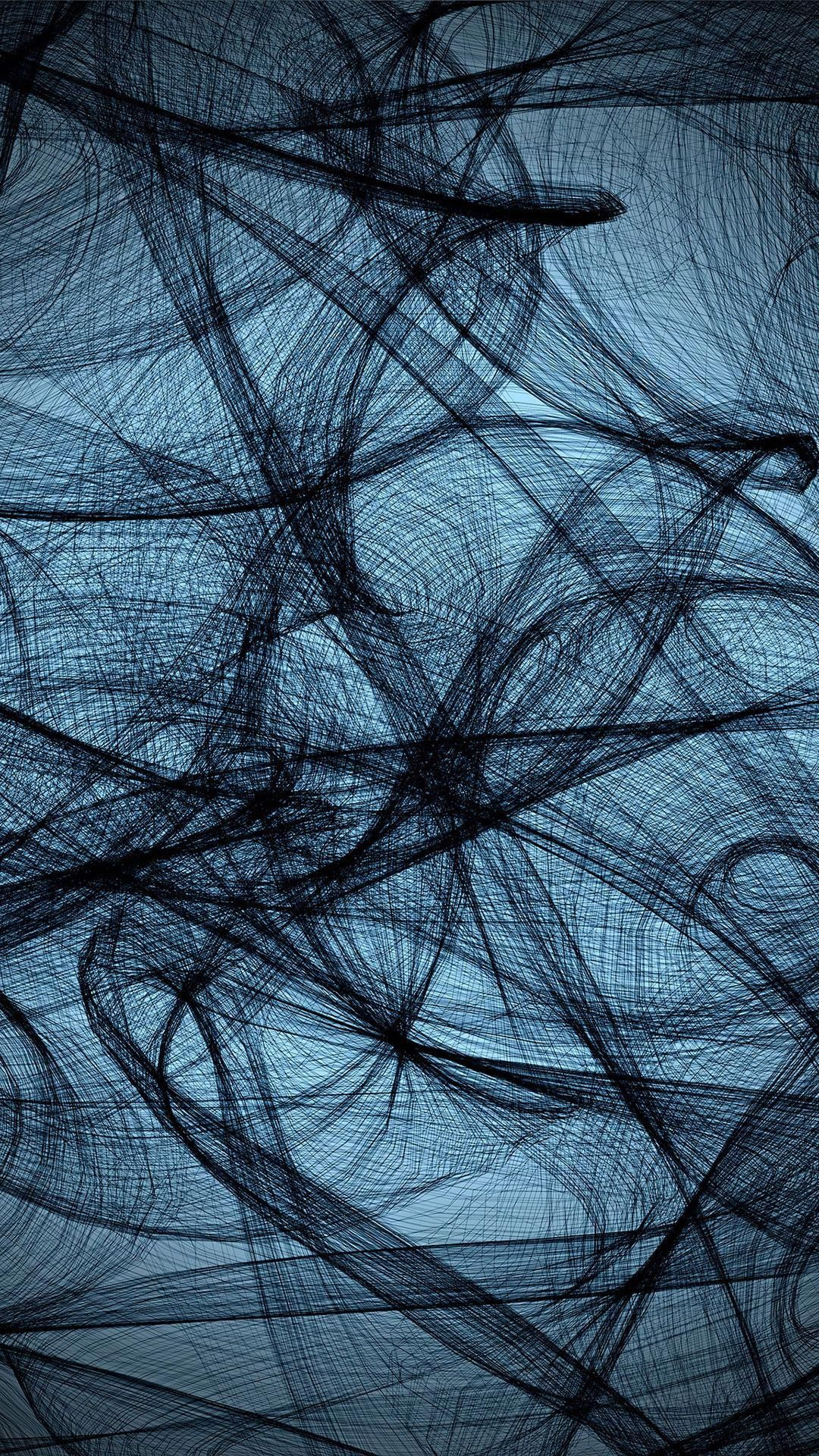Blue Black Abstract Astheticwallpaperiphoneblack Iphone Wallpaper Abstract Textured Wallpaper