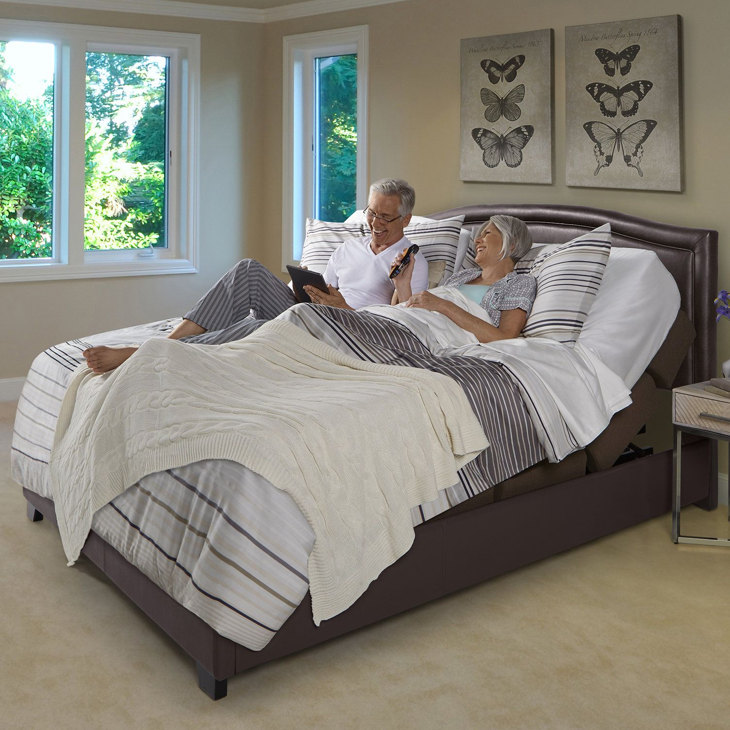 rize contemporary adjustable bed this adjustable base can be paired