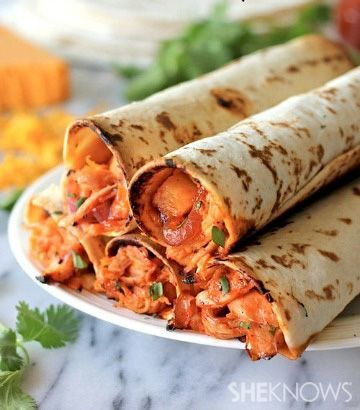 Hawaiian barbecue chicken taquitos | #BBQ
