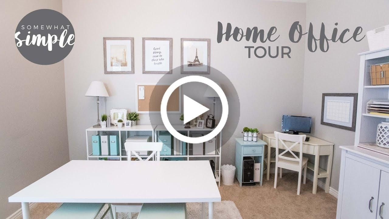 Video Inexpensive Home Office Organization And Decorating Inspiration Tour Lighting Checkout