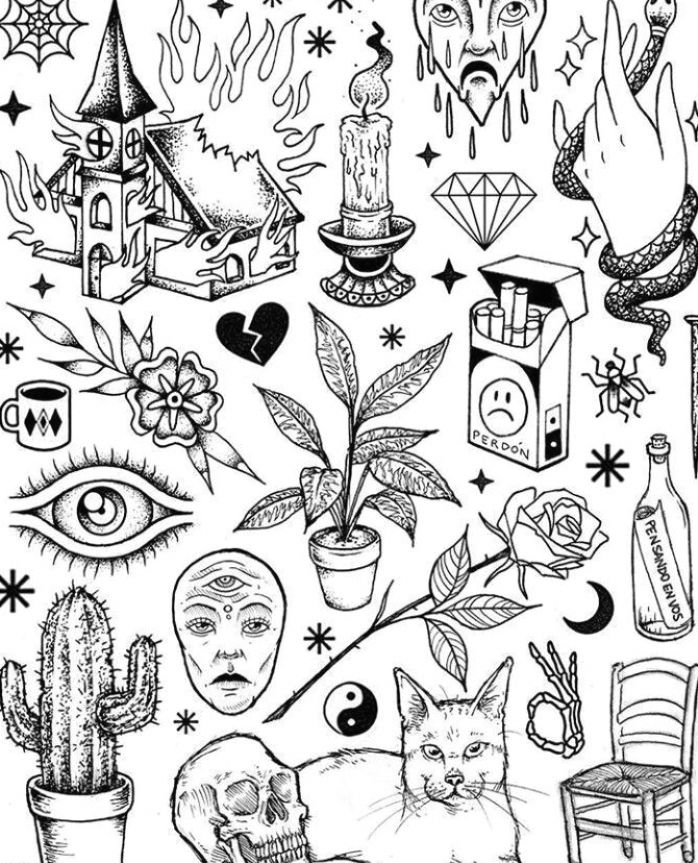 Neuer Tattoo Flash – #tattooAnkle #tattooForGuys #tattooFrauen #tattooHandgelen … – Angela Be…