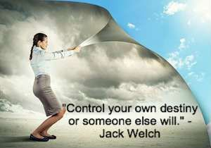 """""""Control your own destiny or someone else will."""" -Jack Welch Learn about the 9 Thought Patterns that will wreak havoc on your life!"""