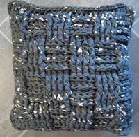 Gratis Patronen Xxl Haken Breien Met Textielgaren Lintjesgaren