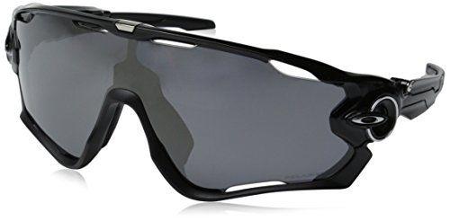 c3eb9a7e595e8 Oakley Men s Jawbreaker OO9290-07 Shield Sunglasses, Polished Black, 131 mm  Oakley http