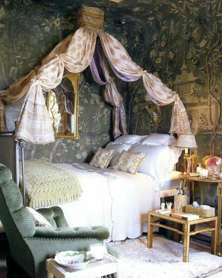 Fairytale Bedroom Abitazioni Shabby Chic Arredamento D Interni