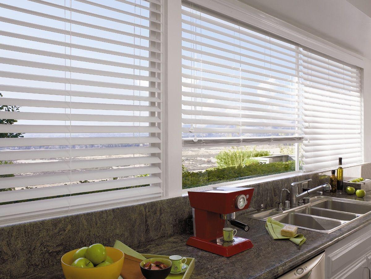 Aluminium Venetian Blinds: Enhance Your Kitchen Space With These Modern,  Slimline Aluminium Venetians.