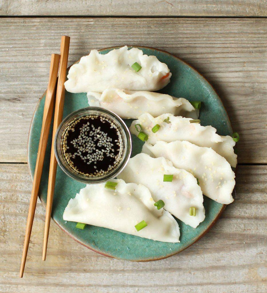 Vegan Dumplings With Easy Gluten Free Wonton Wrappers Recipe