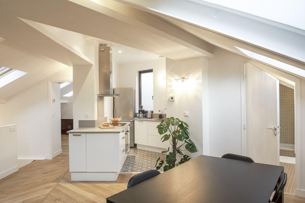 cuisine-table-comble-renovation-rottembourg Architecture d