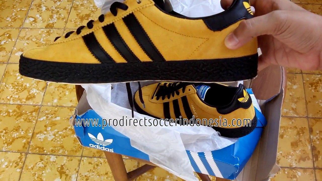 Sepatu Sneakers Adidas Jamaika Bogold Core Black B26386 Original
