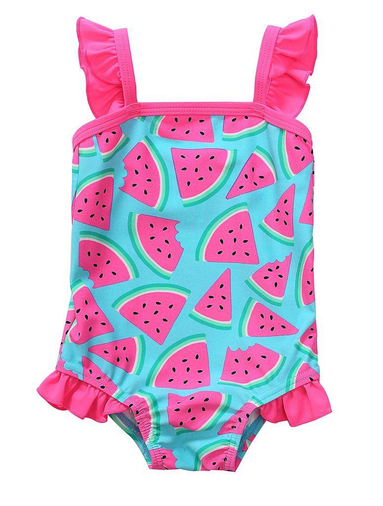 BeautyIn Baby Girls Cute Fruits Ruffle One Piece Swimming Costume Swimwear  sc 1 st  Pinterest & BeautyIn Baby Girls Cute Fruits Ruffle One Piece Swimming Costume ...