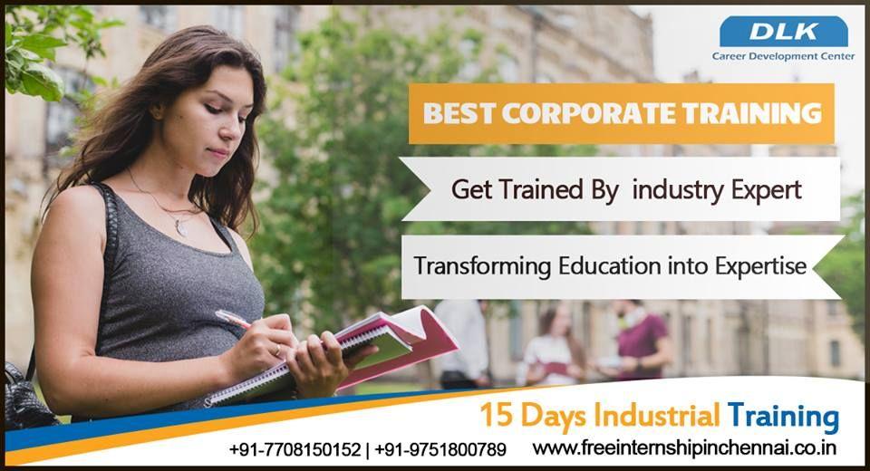 Free internship in chennai corporate training