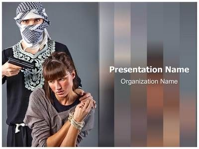 hostage powerpoint template is one of the best powerpoint, Modern powerpoint