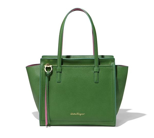 412ff25cd0 Large Top Handle Tote Bag - Handbags - Women - Salvatore Ferragamo ...