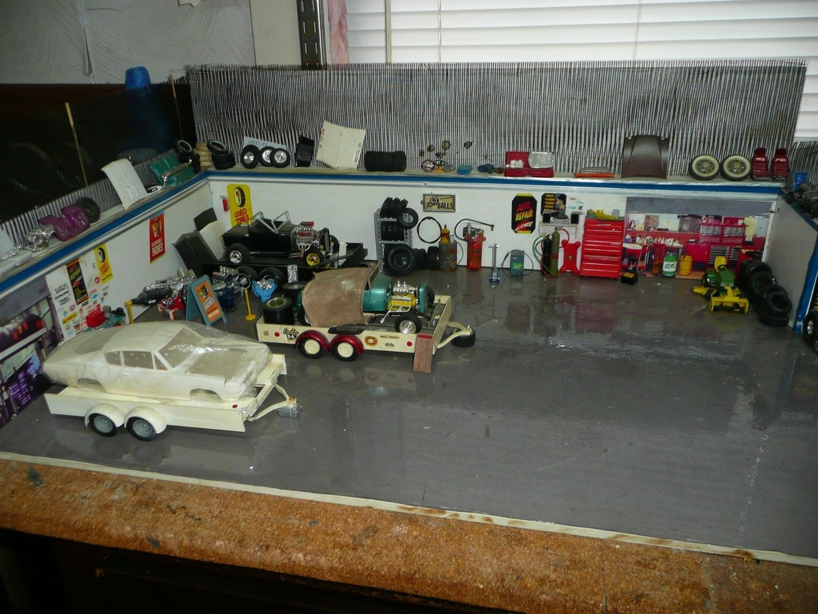 Cars Parts Junkyard Very Cool Diorama Selling Out Includes to The ...
