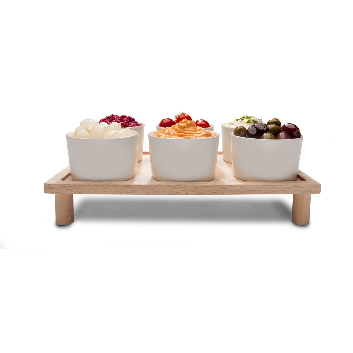 6 bowls with stand  kmart  dining christmas table