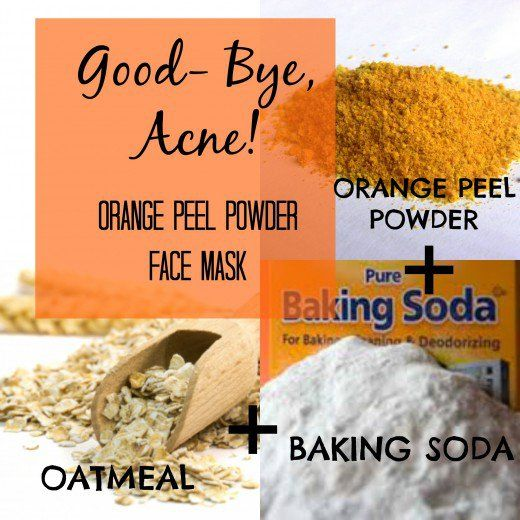 Orange peel face mask recipe