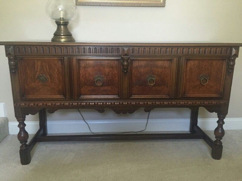 Grams Sideboard Which Is Jacobean Revival The Set Going In My Dining Room With