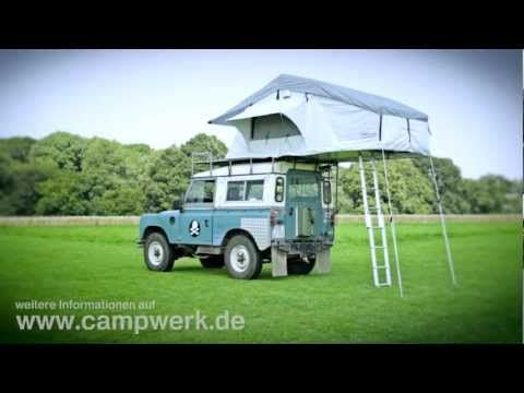 campwerk dachzelt adventure aufbau autodachzelt klappzelt. Black Bedroom Furniture Sets. Home Design Ideas