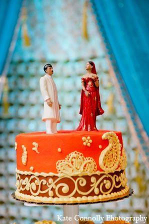 Indian Wedding Cake Topper Traditional Bride Groom Maharaniweddings Gallery