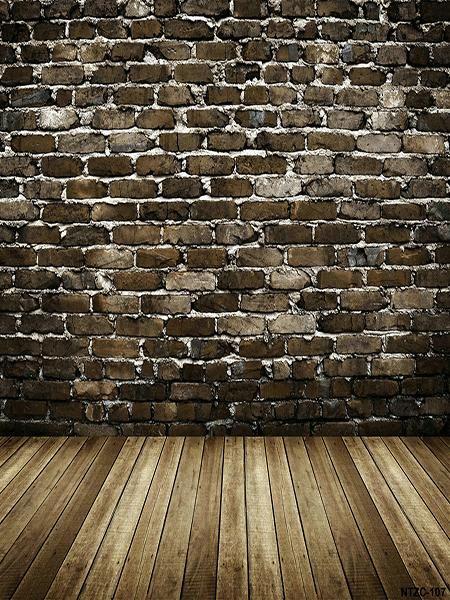 wood floor and wall background. Kate Dark Brick Wall Background Backdrop With Flooring Wood Floor And Wall Background