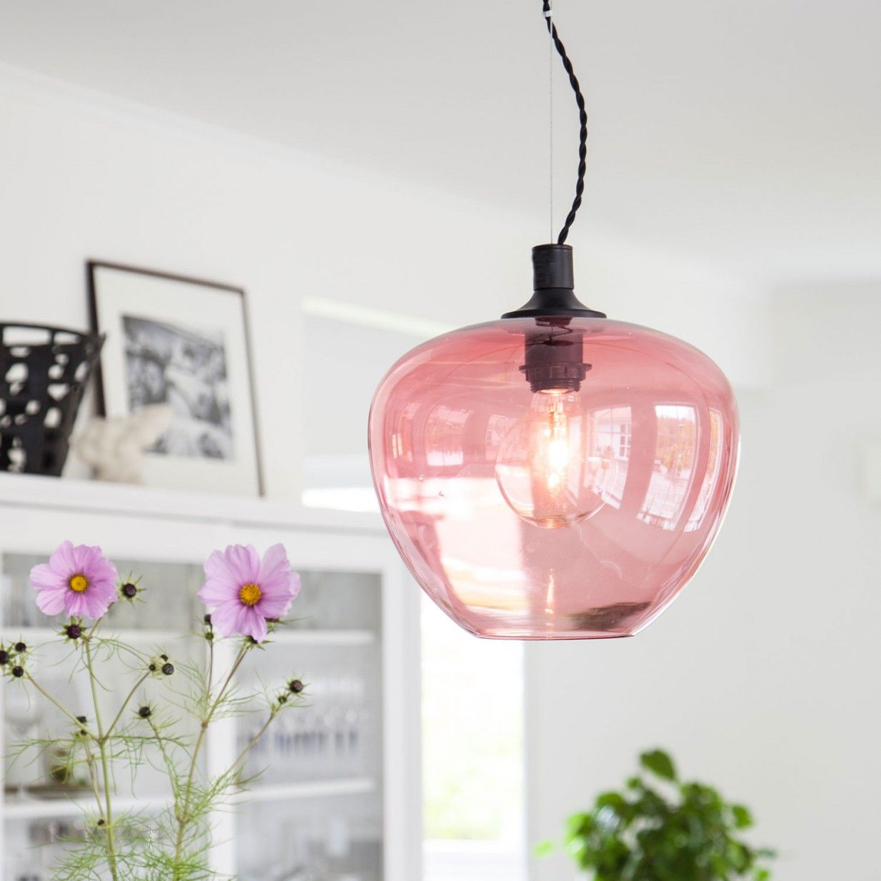 pendant lighting pink # 21