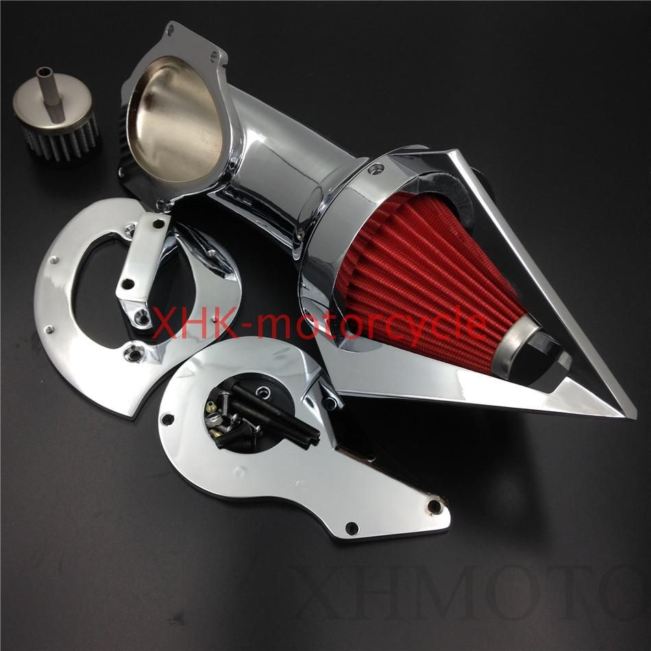Cone Spike Air Cleaner Kits for Hond Shadow 600 VLX600 VLX 1999 2012 Chrome-in Air Filters & Systems from Automobiles & Motorcycles on Aliexpress.com   Alibaba Group