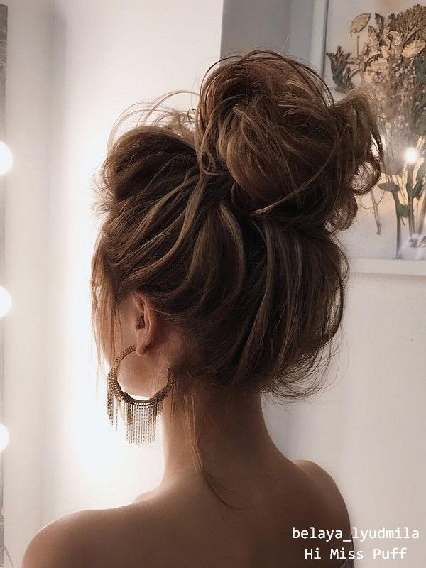 20 Long Wedding Hairstyles and Updos from belaya_lyudmila