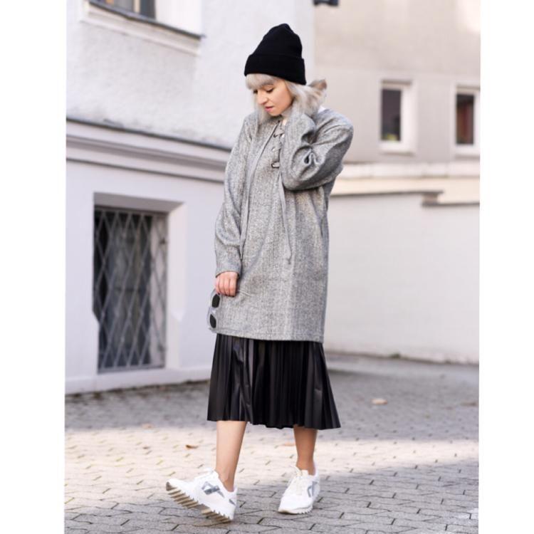 dress over skirt by nachgestern