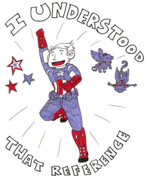 oh Captain America...