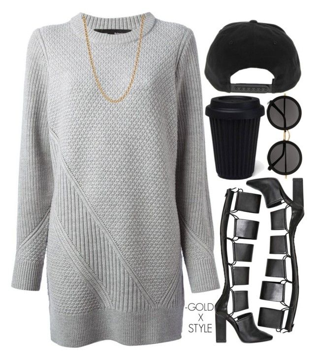 """""""CONSCIOUS."""" by goldxstyle ❤ liked on Polyvore featuring Proenza Schouler, Alexander Wang, Givenchy and The Row"""