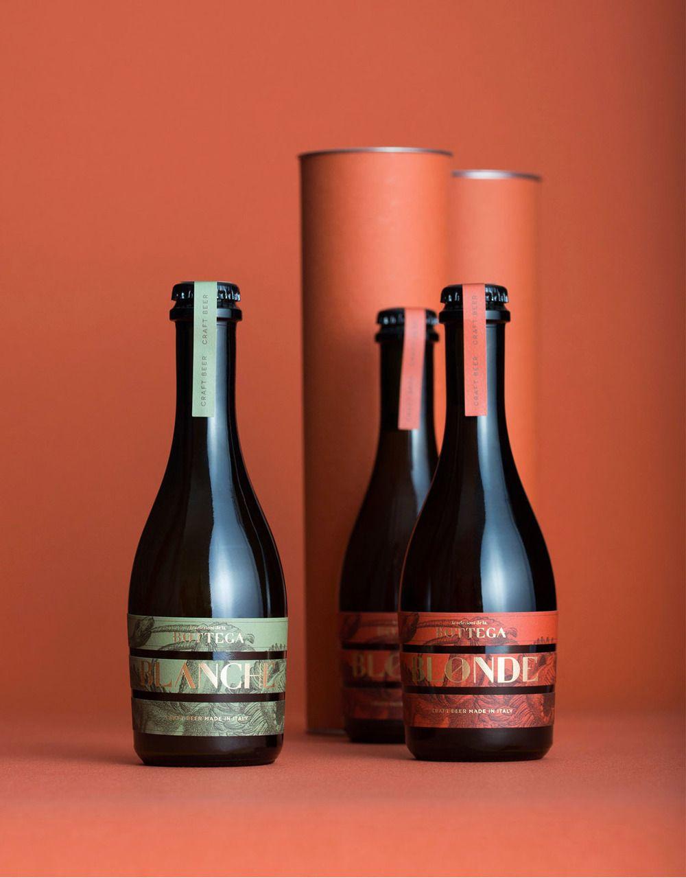 La Bottega Beer And Olive Oil Beer Packaging Design Olive Oil Packaging Beer Packaging