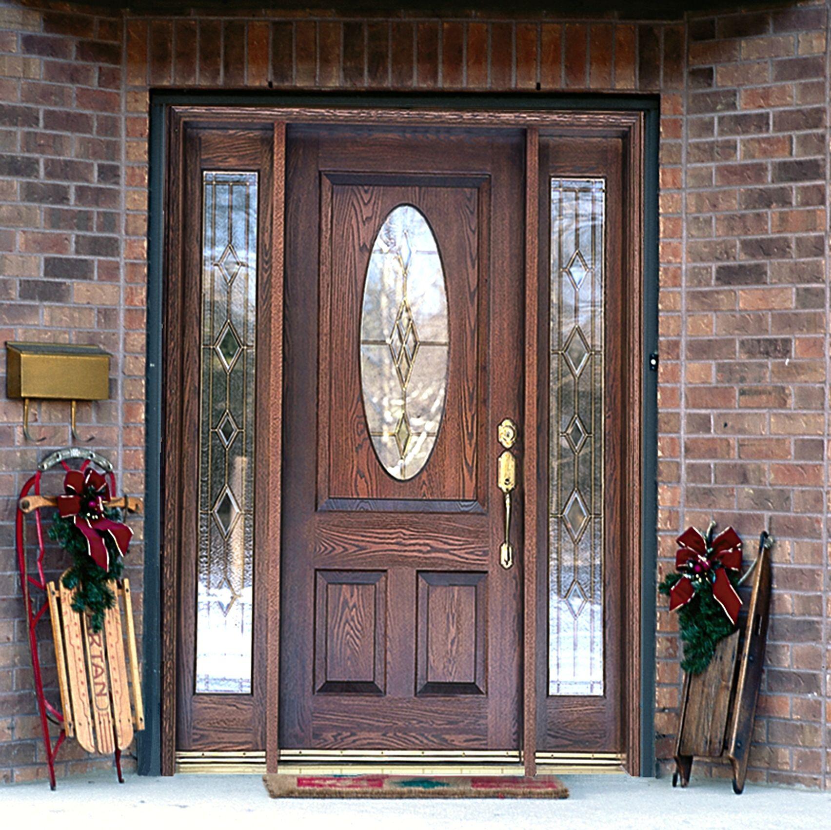 Exterior Wooden Doors With Glass Panels Httpthefallguyediting