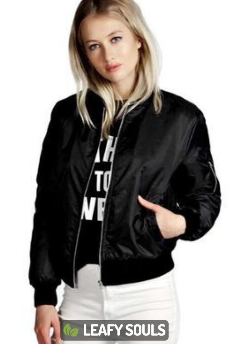 Annette Designer Bomber Jacket Womens Windbreaker Jacket Women Coats Jackets Women Basic Long Sleeve [ 1102 x 735 Pixel ]