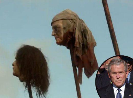 """George Bush en la pica de """"Juego de Tronos"""" y otros cameos raros, raros, raros JAJA"""