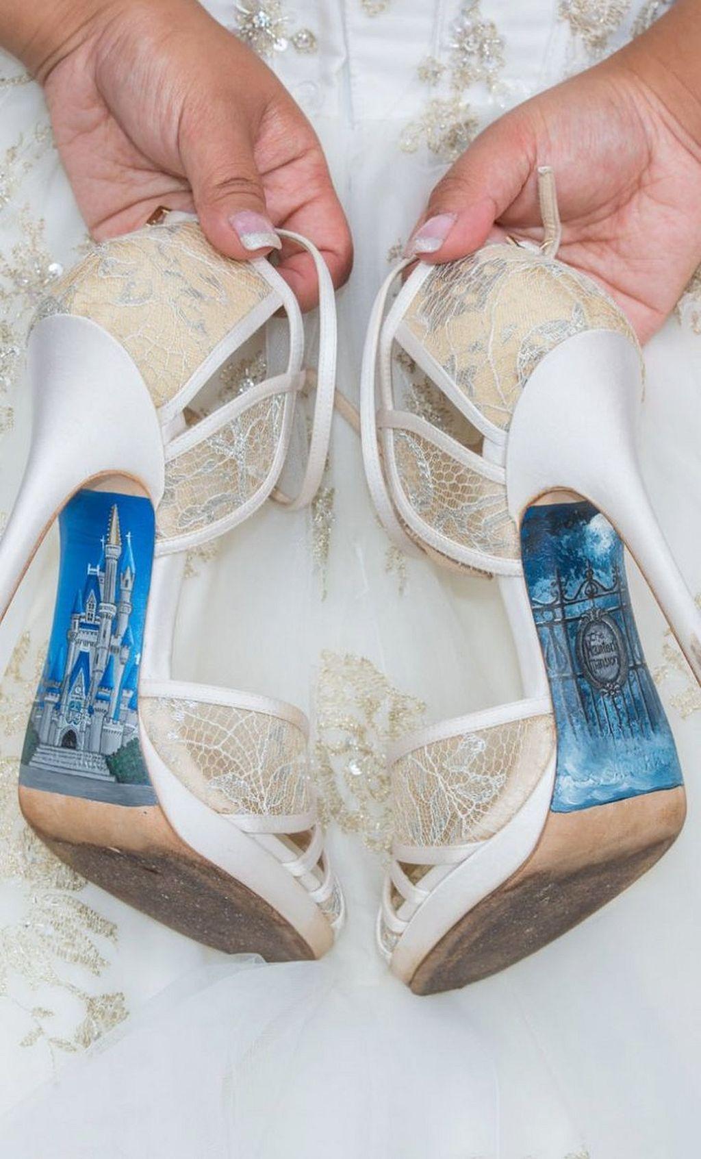 30 Wonderful Disney Wedding Ideas Disney wedding shoes
