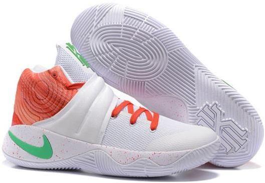 Nike Kyrie 2 MVP Mens Basketball Shoes White orange0