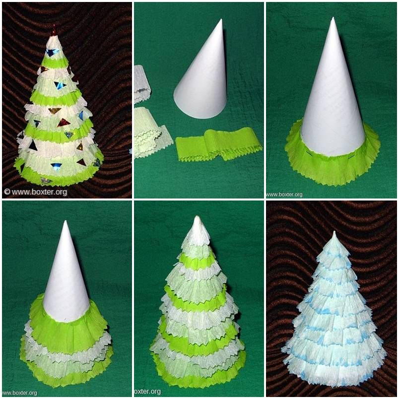 How to make crepe paper christmas tree step by step diy tutorial how to make crepe paper christmas tree step by step diy tutorial instructions how to solutioingenieria Choice Image