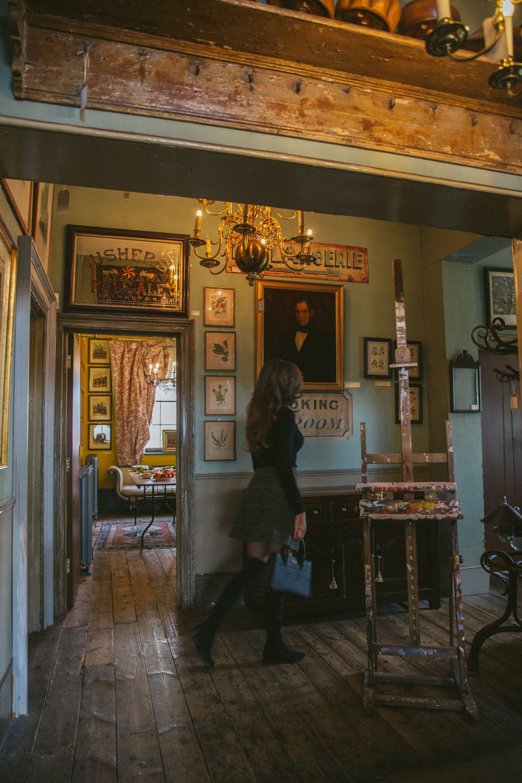A Very Unusual Restaurant, London Brunswick house