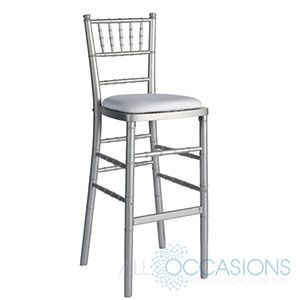 Silver Tail Chiavari Bar Stool