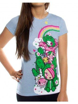 Tokidoki Sandy Watercolors Cute Junior T Shirt