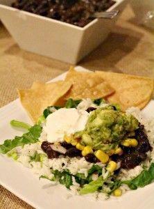 Chipotle Burrito Bowl Recipe Bowl recipes easy, Chipotle