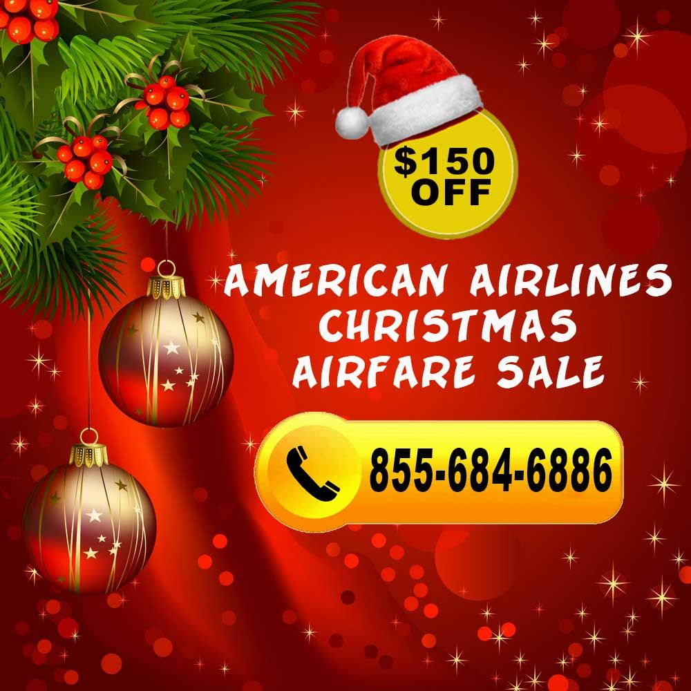 American Airlines Christmas Flight Deals Christmas American Airlines Cheap Christmas