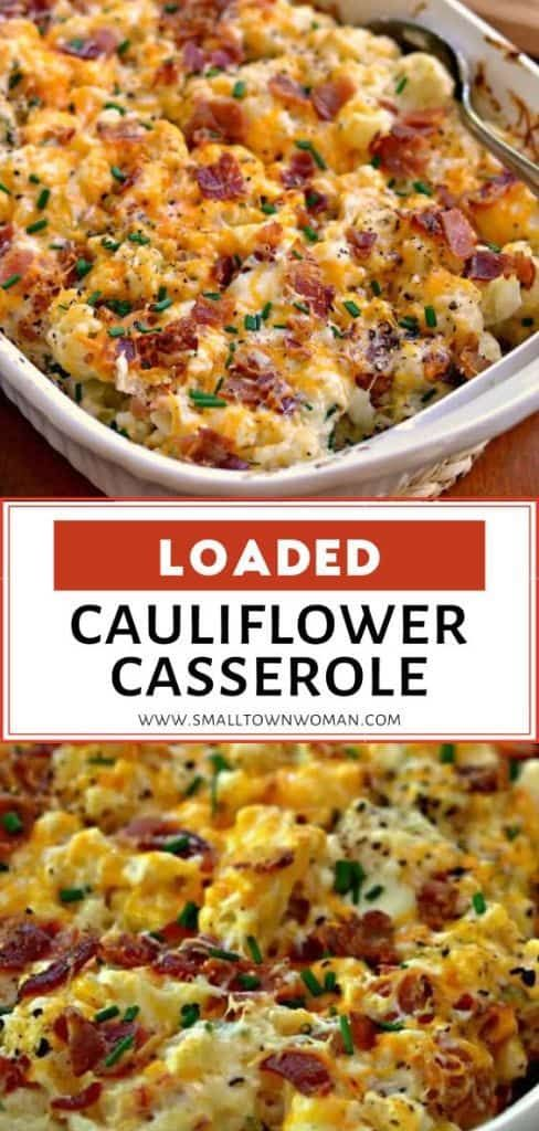 Photo of Loaded Cauliflower Casserole
