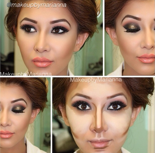 Pin by Jamie T on Flawless face Makeup, Face contouring