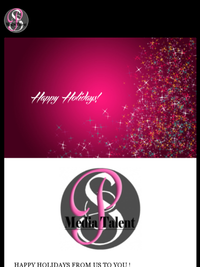Happy Holidays from @psmediatalent ! Check out this Mad Mimi newsletter