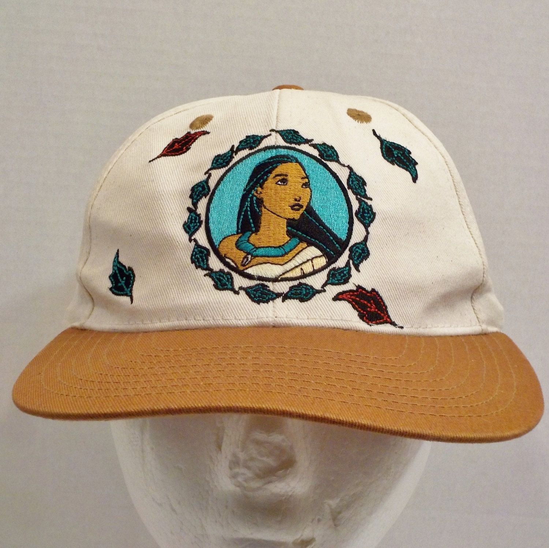 e09f8aa573a Pocahontas Disney Snapback Cap Hat by LouisandRileys on Etsy ...