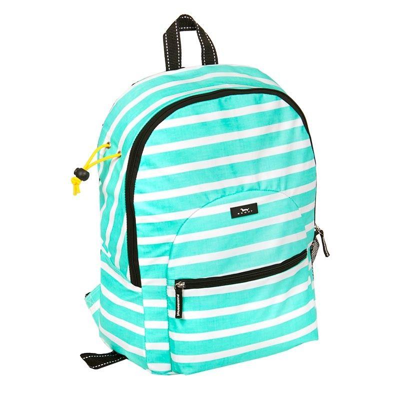 Monogrammed Lacrosse Backpack Scout Montauk Mint