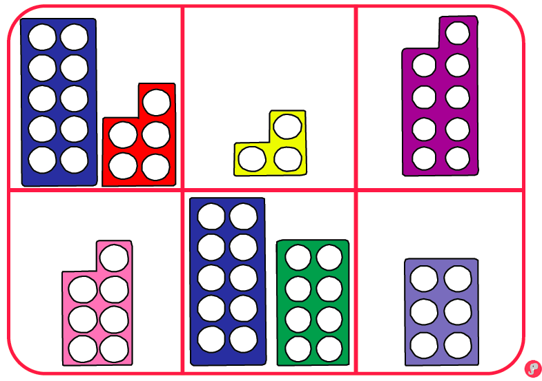 0 20 numicon number bingo boards free resource early years maths numicon math bingo y. Black Bedroom Furniture Sets. Home Design Ideas